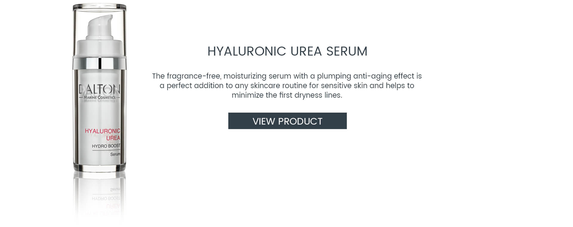 Fragrance-free moisturizing serum with anti-aging effect