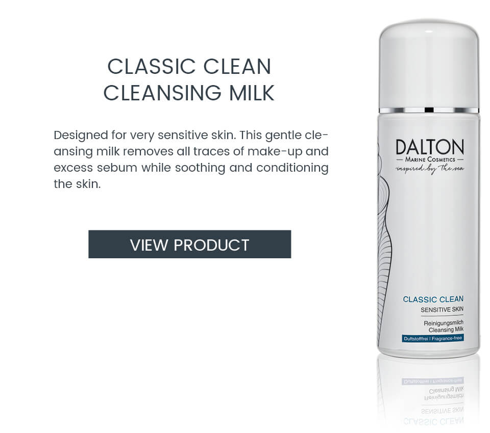 Gentle cleansing milk for sensitive skin