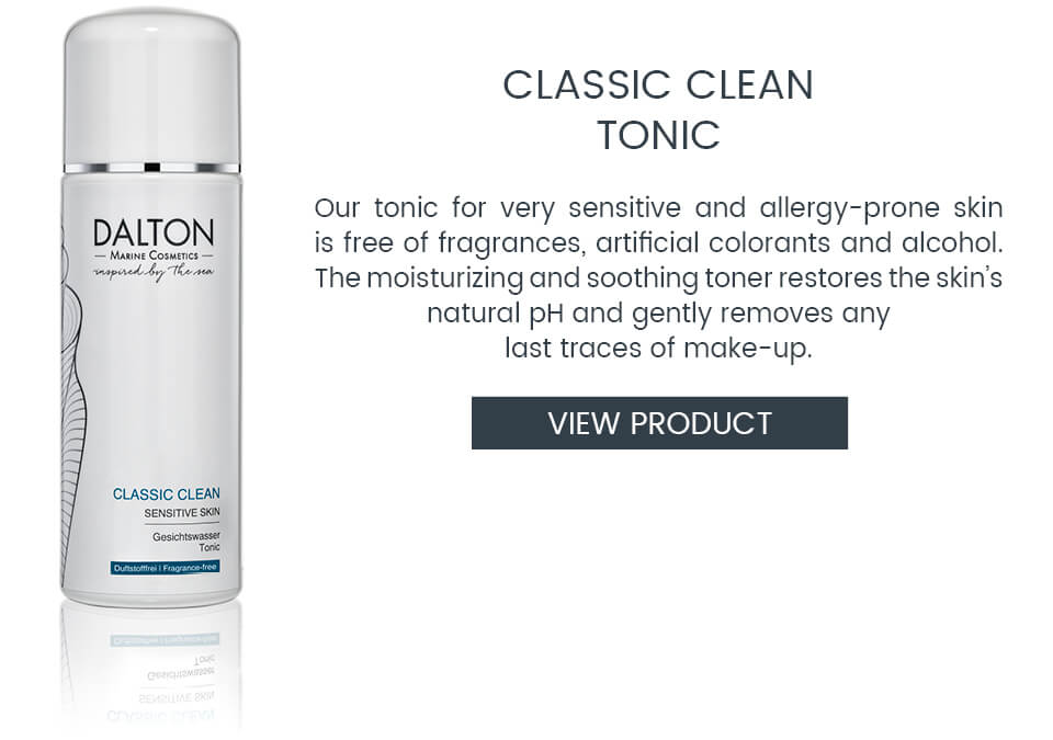 Clarifying tonic for sensitive skin