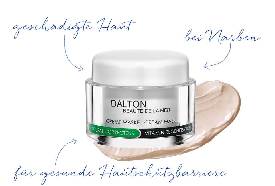 Gesichtsmaske für die zu Hyperkeratose neigende Haut