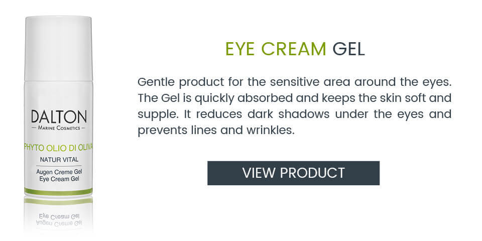 Plant-based Eye Cream Gel with olive oil