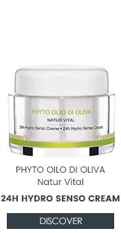 24H Hydro Senso Cream with olive oil