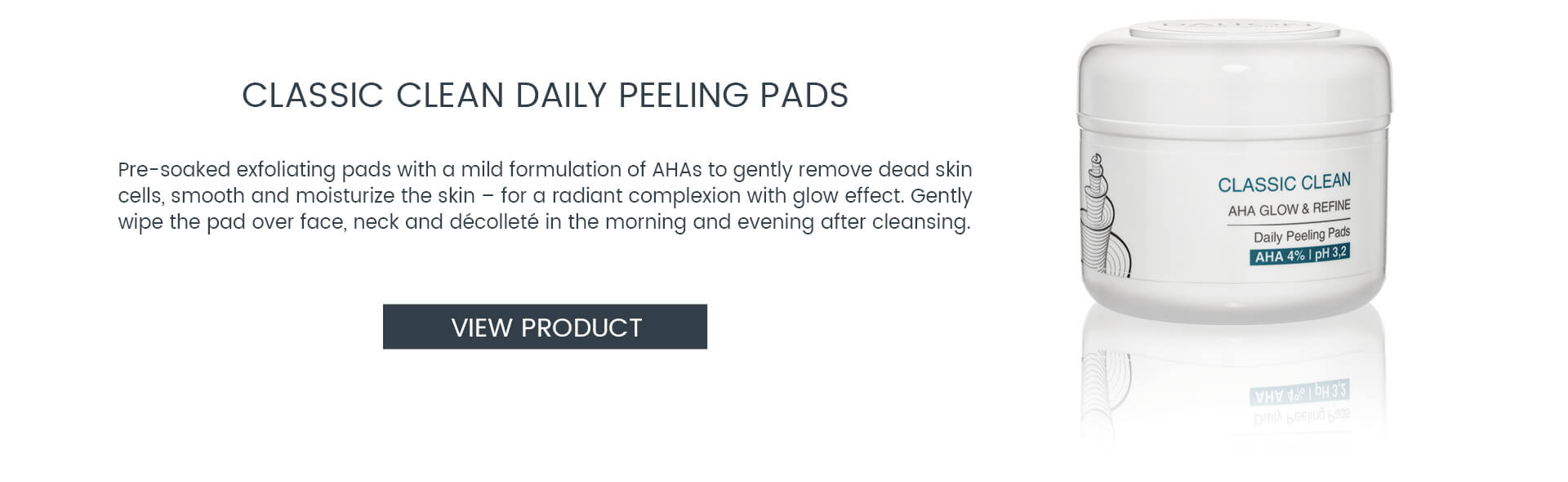 AHA Peeling Pads – Gentle AHA products for at-home use