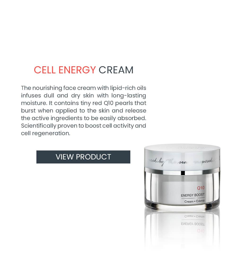 Vitalizing cream for dull skin