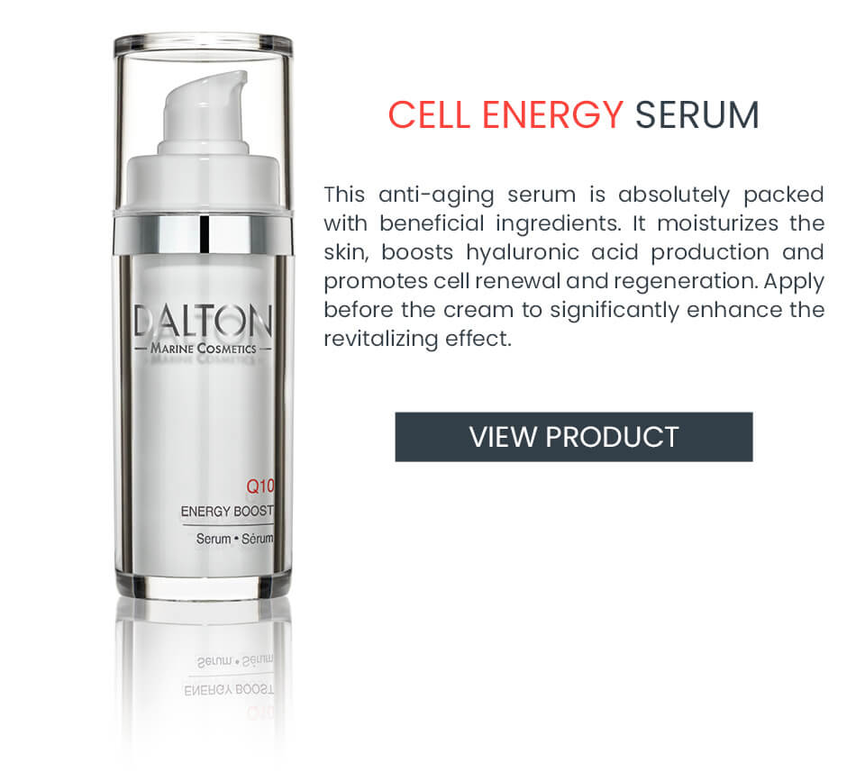 Anti-Aging Serum with CoQ10 for dry skin