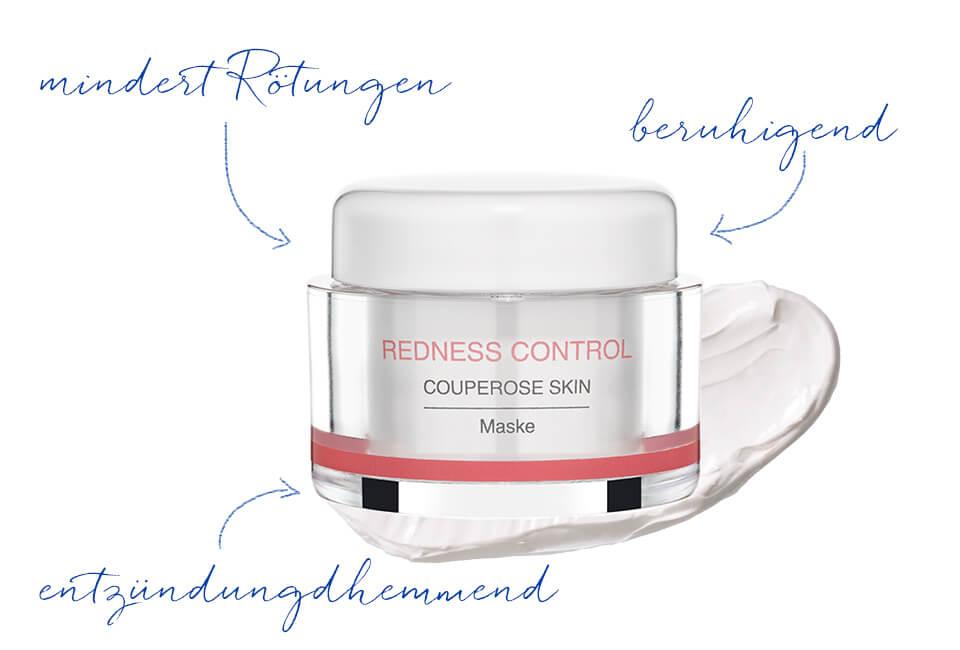 Gesichtsmaske für Couperose Haut