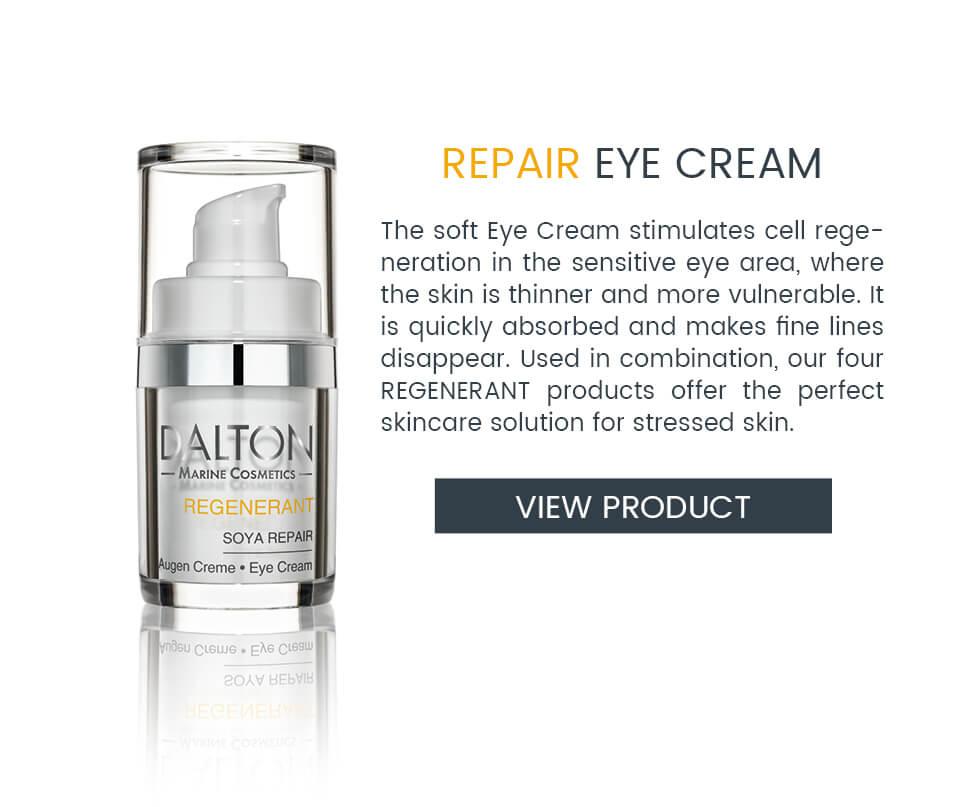 Eye Cream to regenerate stressed skin