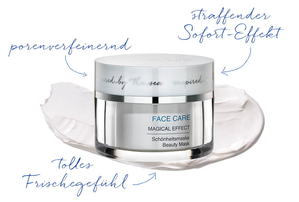Erfrischende Gesichtsmaske mit klärenden Sofort-Effekt