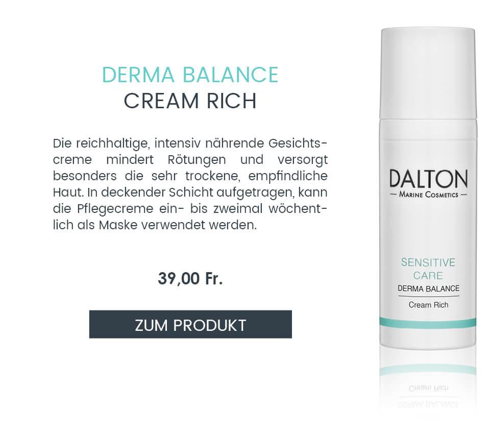 Zur reichhaltigen Gesichtspflege gegen empfindliche Haut