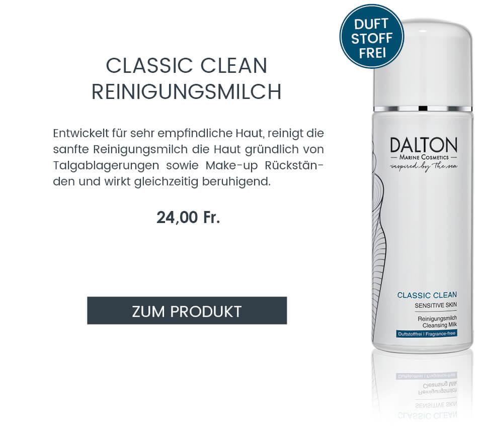 Zur sanften Reinigungsmilch für die empfindliche Haut