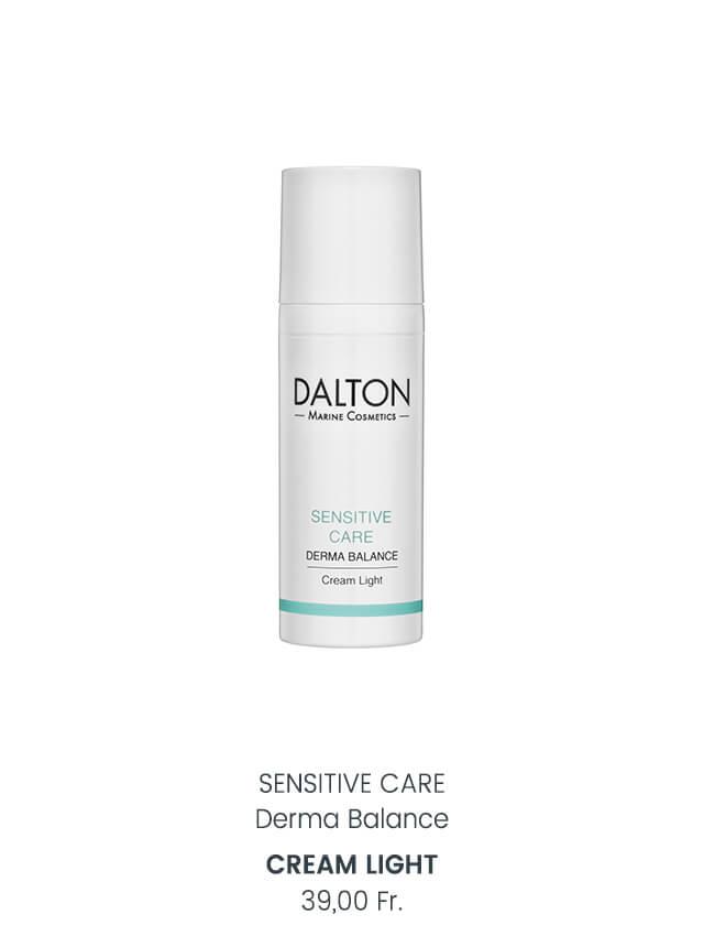 Leichte Gesichtscreme für empfindliche Haut