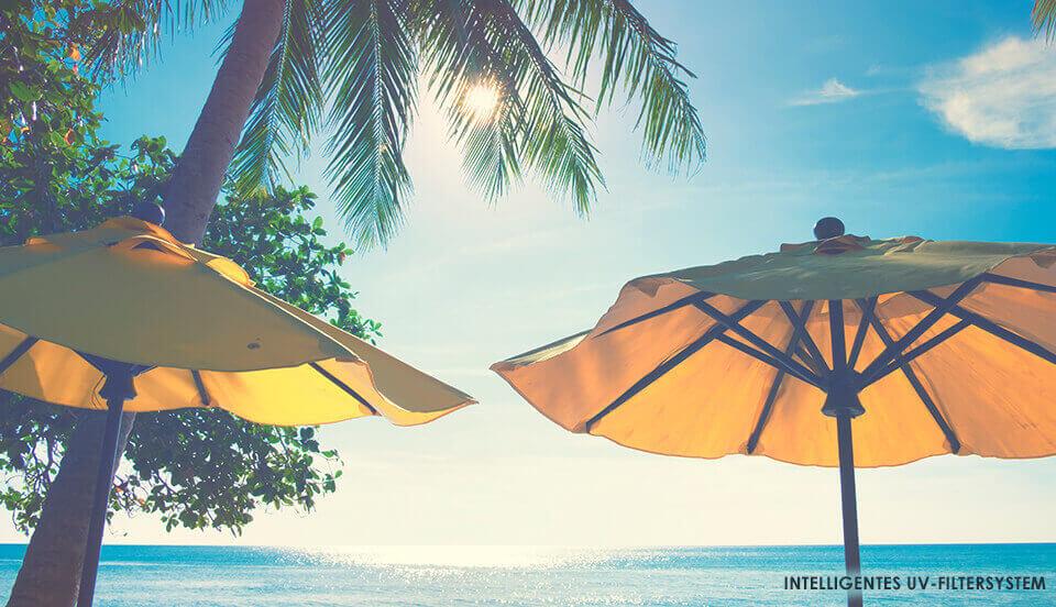 UV-Filtersystem für optimalen Sonnenschutz