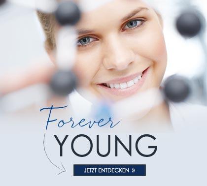 Themenwelt Forever Young - Tipps für jüngeres Aussehen