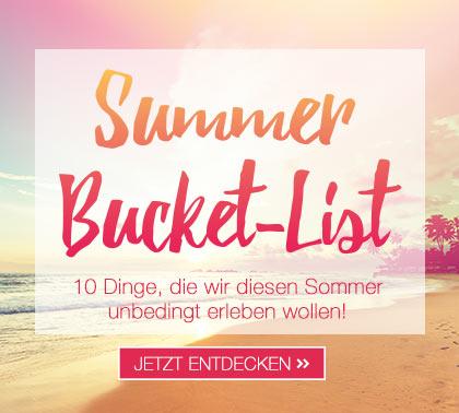 Themenwelt Summer Bucket-List