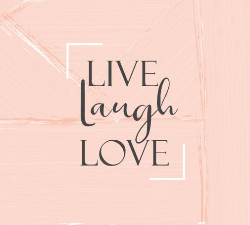 DALTON Stories Live, laugh, love - perfect Valentine's Day