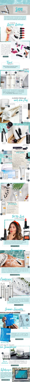 Travel Beauty Essentials für den Sommerurlaub