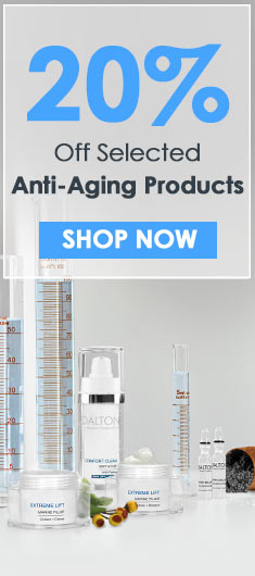 20% Off Selelcted Anti-Aging Products