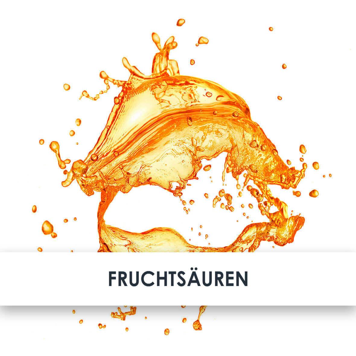 Wirkstoff Fruchtsäuren