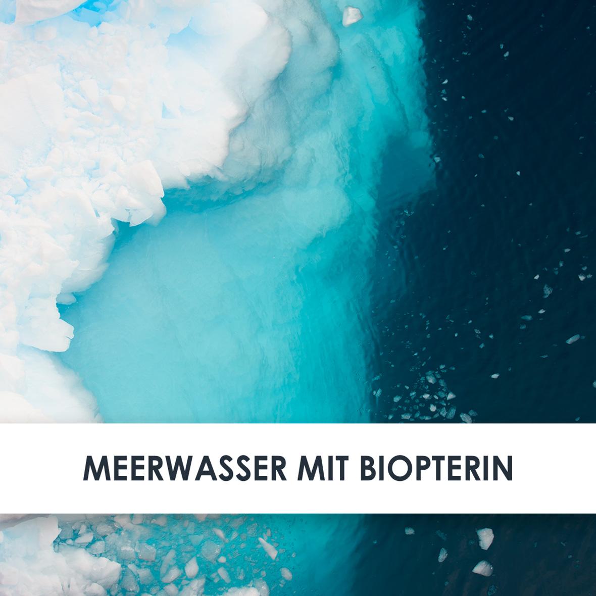 Wirkstoff Meerwasser mit Biopterin