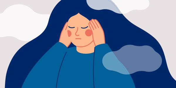 Wie psychischer Stress Hautkrankheiten negativ beeinflussen kann