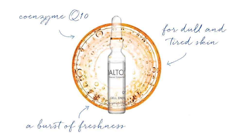 Vitalizing Q10 Ampoule for dull skin
