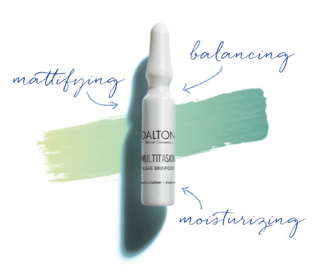 Mattifying & moisturizing ampoule with instant effect
