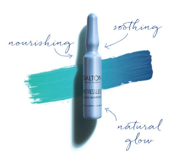 Nourishing ampoule to prevent premature skin aging