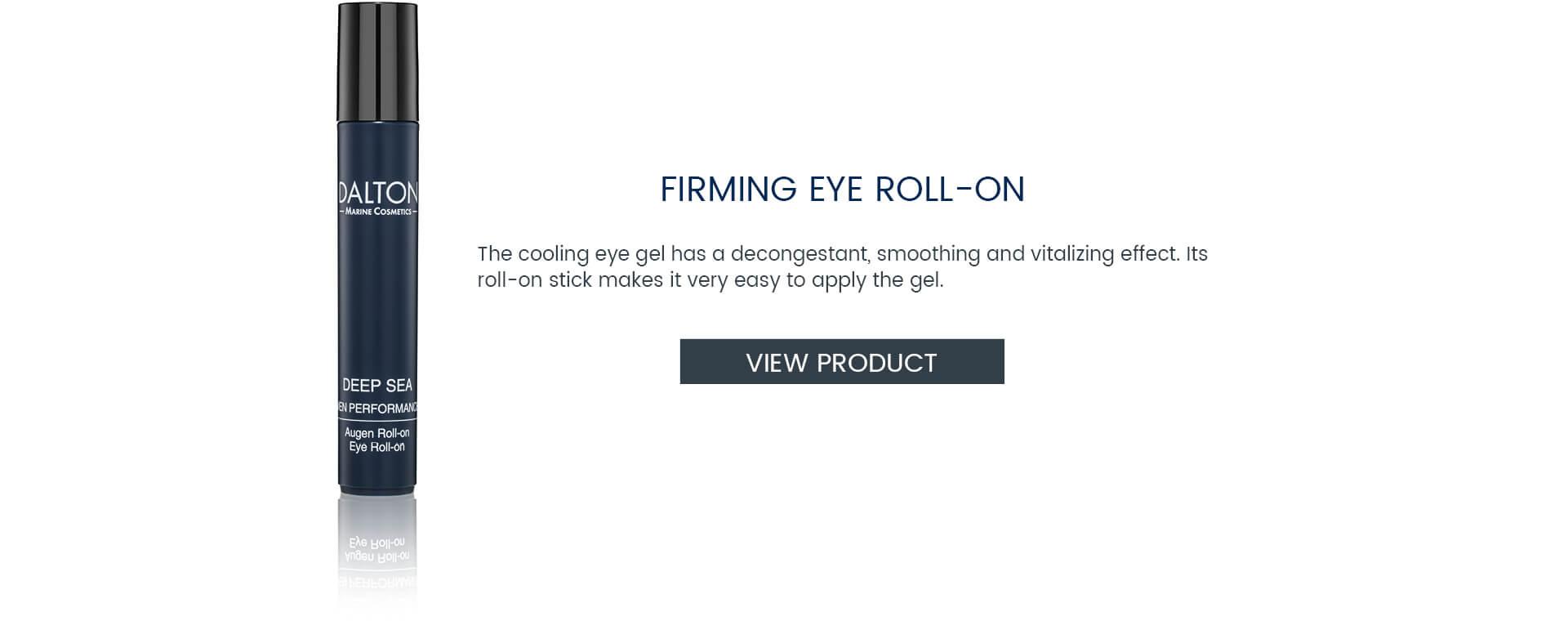 Eye Gel for men's skin