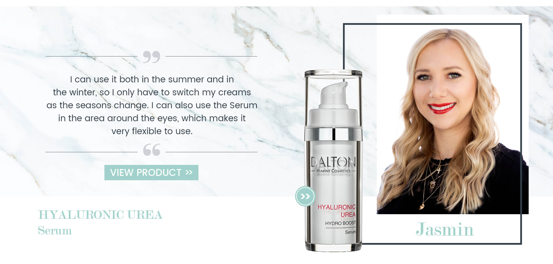 Serum for dehydrated dry skin