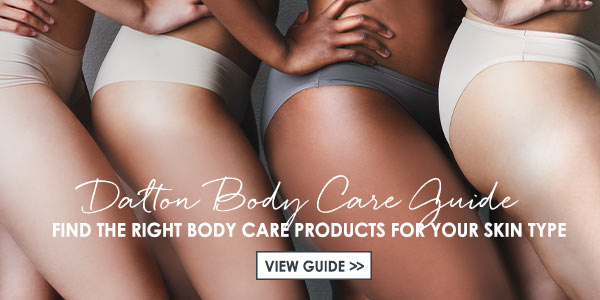 Find the right body care products for your skin type