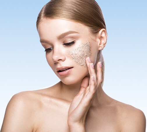 How to exfoliate face and body