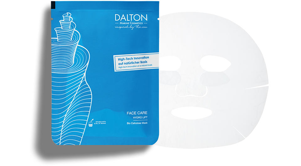 Anti-aging sheet mask with hyaluronic acid