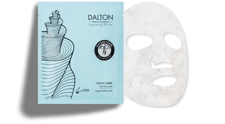 Foaming bubble face mask