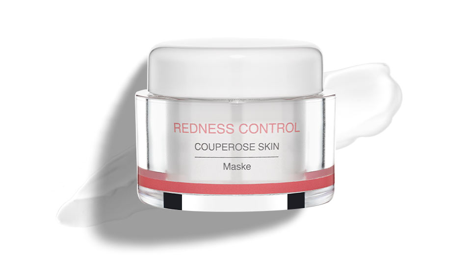 Anti-redness mask for couperose