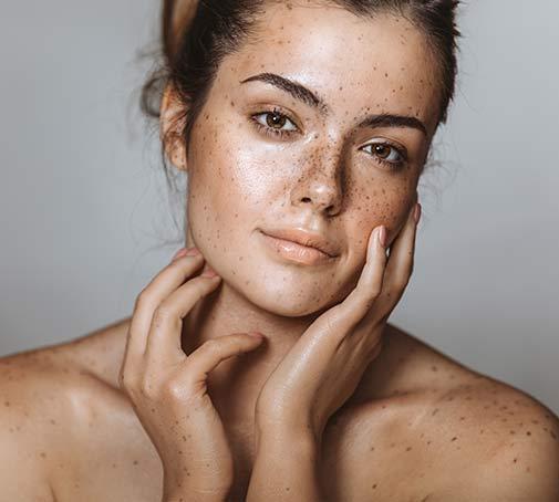 Treat dark spots & hyperpigmentation