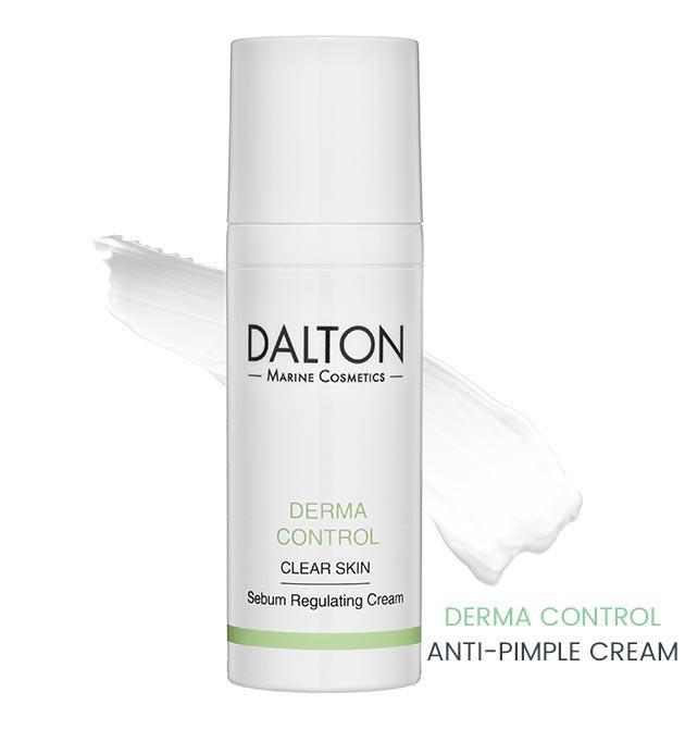 Moisturizing anti-pimple face cream