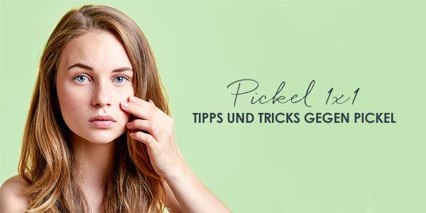 Pickel loswerden mit diesen Tipps