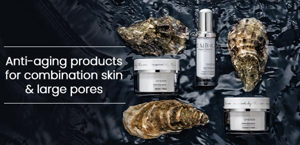 Anti-aging products for blemish-prone skin