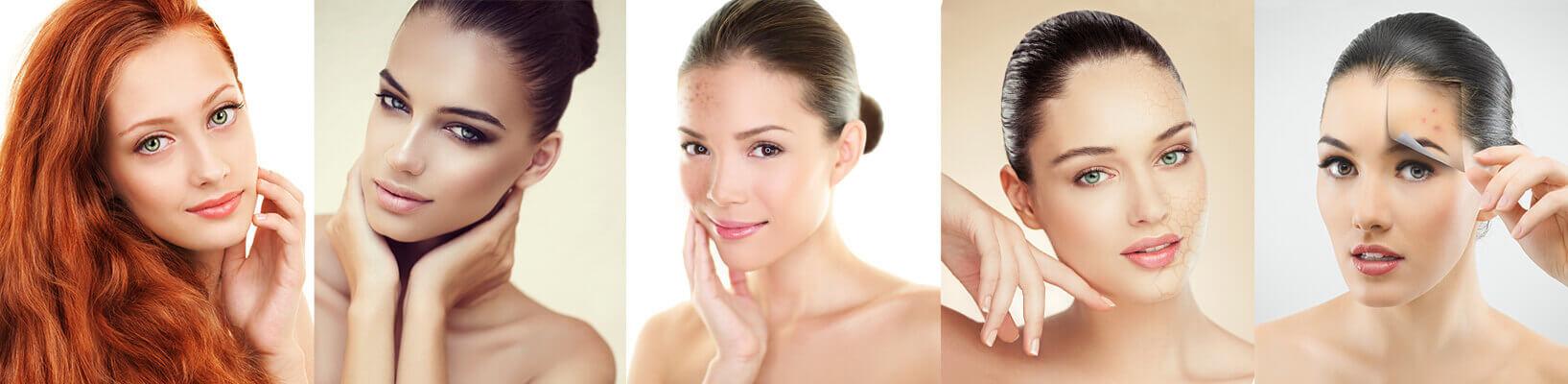 Kosmetischer Fragebogen zur Ermittlung deines Hautbildes