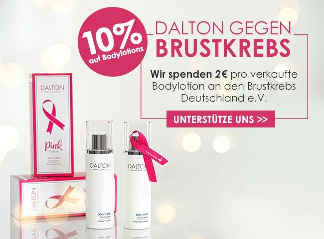 Dalton gegen Brustkrebs