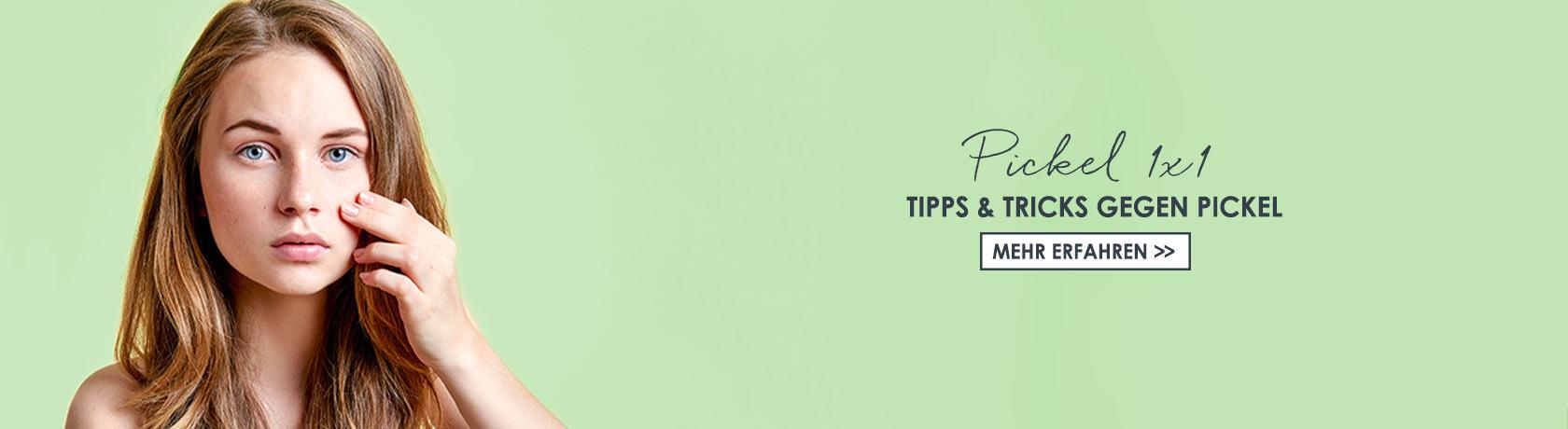 Tipps gegen Pickel