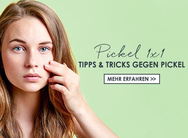 Tipps & Tricks gegen Pickel