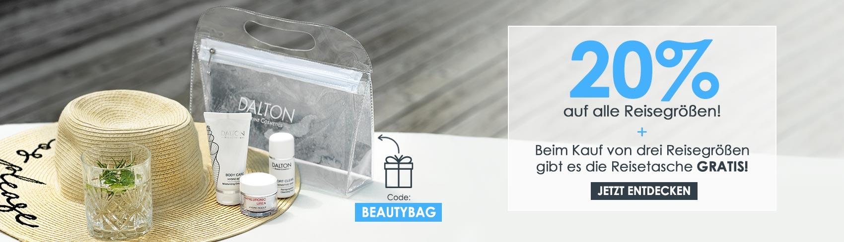 Sichere dir eine GRATIS Reisetasche