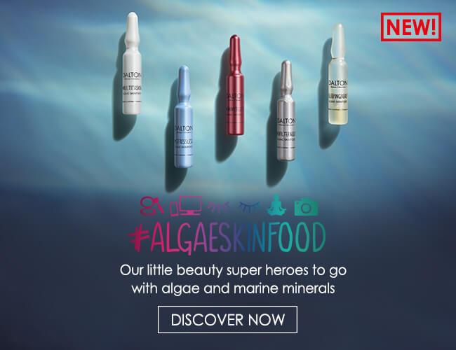 Algae Skinfood beauty ampoules