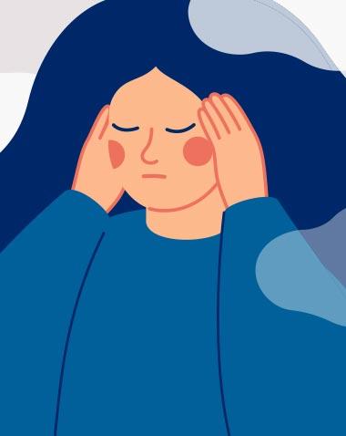 Wie Stress sich auf die Haut auswirkt
