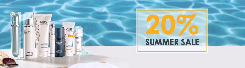 20% Rabatt auf unsere DALTON Summer Highlights sichern