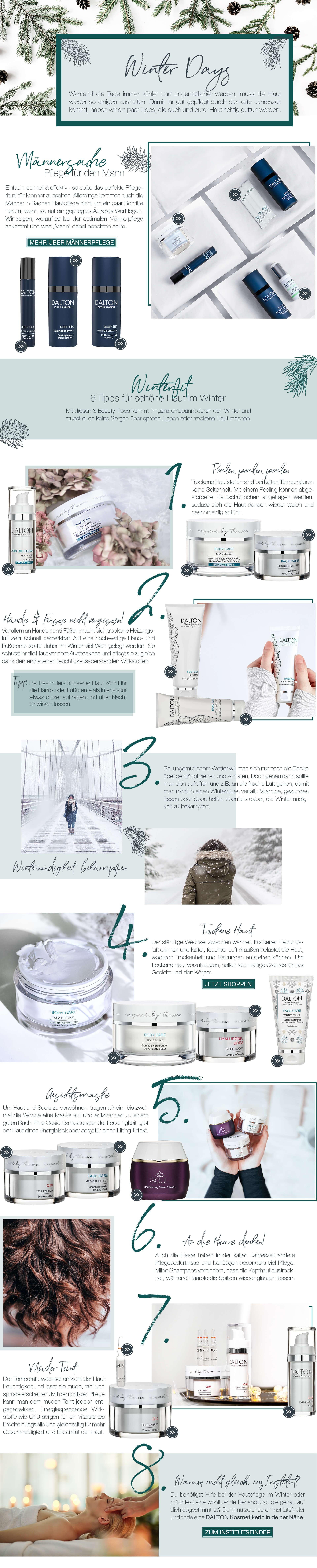 Tipps für schöne Haut im Winter