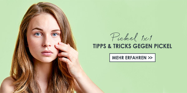 Was hilft gegen Pickel