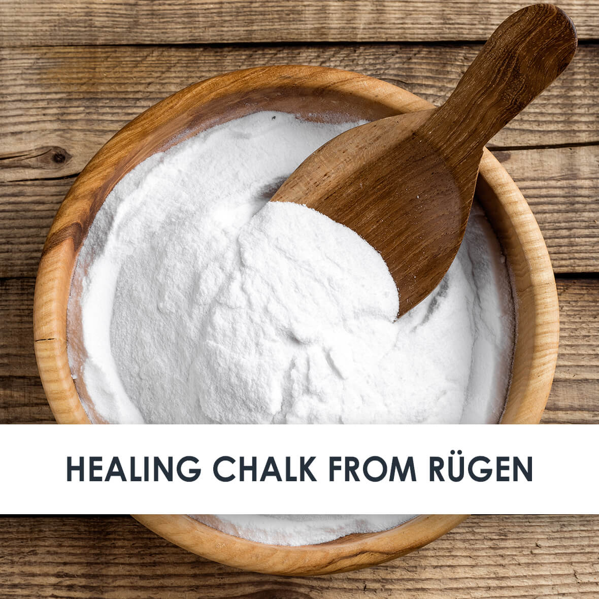 Healing Chalk from Rügen Skincare Benefits