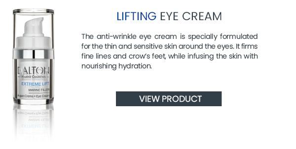 Firming anti wrinkle eye cream